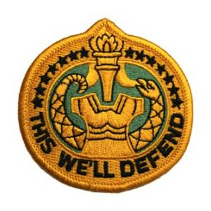 Drill Sergeant This We'll Defend Patch