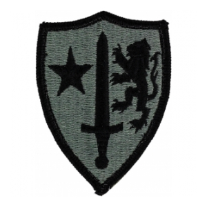 Allied Command Patch Foliage Green (Velcro Backed)