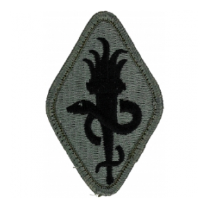 Medical School Patch Foliage Green (Velcro Backed)