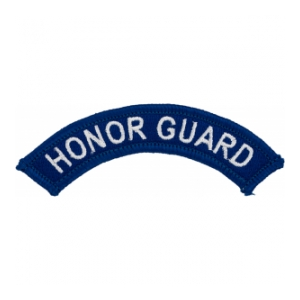 Honor Guard Tab (Blue w/ White Letters)