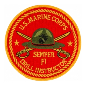 Us Army Surplus >> Marine Corps Drill Instructor Patch | Flying Tigers Surplus