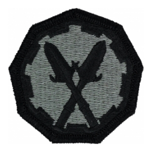 290th Military Police Brigade Patch Foliage Green (Velcro Backed)