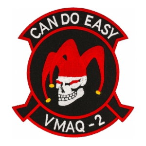 Marine Tactical Electronic Warfare VMAQ-2 Patch (Jester)