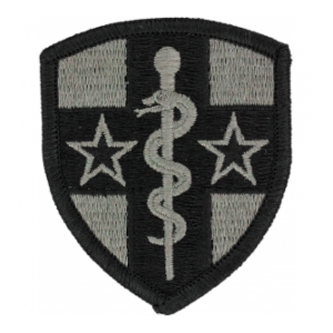 Reserve Medical Command Patch Foliage Green (Velcro Backed)
