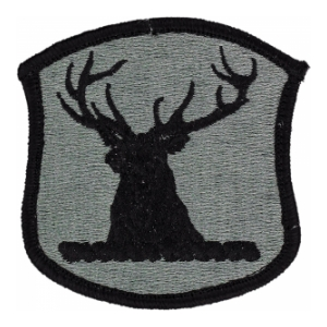 Idaho National Guard Headquarters Patch Foliage Green (Velcro Backed)