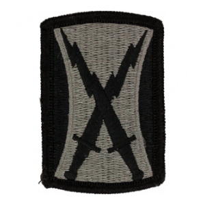 106th Signal Brigade Patch Foliage Green (Velcro Backed)
