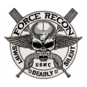 USMC Force Recon - 5 (Swift Deadly Silent) Patch