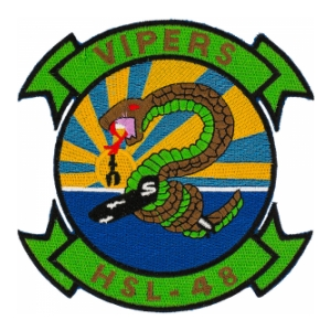 Navy Helicopter Anti-Submarine Squadron  Patch HSL-48