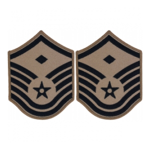 Air Force ABU Master Sergeant w/ Diamond Chevron
