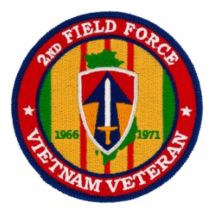 2nd Field Force Vietnam Veteran Patch