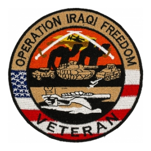 Operation Iraqi Freedom Veteran Patch