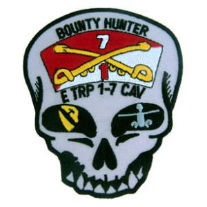 E Troop  1/7 Air Cavalry Regiment Bounty Hunter Patch
