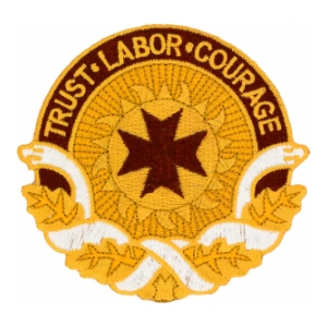 "18th Medical Command ""Trust Labor Courage"" Patch"