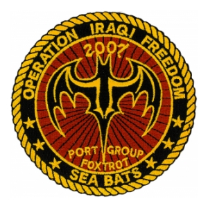 Operation Iraqi Freedom Sea Bats Port Group Foxtrot 2007