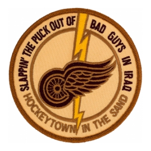 "Operation Iraqi Freedom ""Slappin' The Puck Out Of Bad Guys In Iraq"