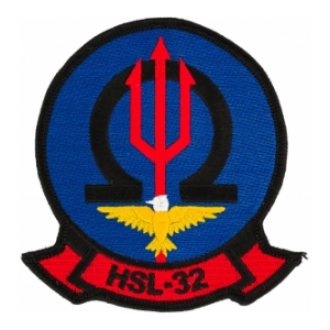 Navy Helicopter Anti-Submarine Squadron Patch HSL-32