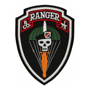 B Company 1/75 Ranger Patch