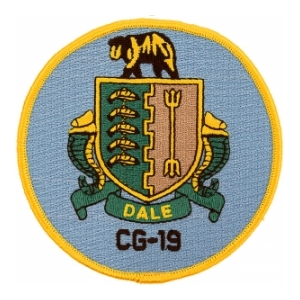 USS Dale CG-19 Ship Patch