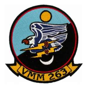 Marine Medium Tiltrotor Squadron VMM-263 Patch