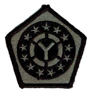 108th Sustainment Brigade Patch Foliage Green (Velcro Backed)