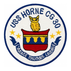 USS Horne CG-30 Ship Patch