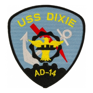 USS Dixie AD-14 Patch