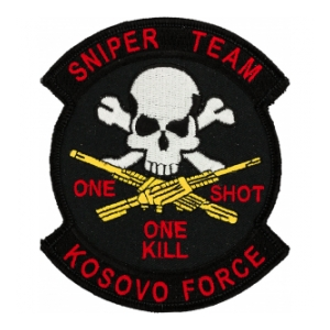 Sniper Team Kosovo Force Patch