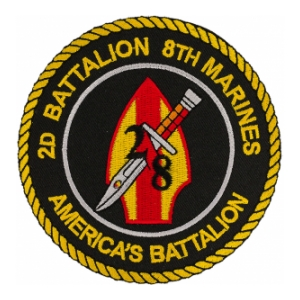 2nd Battalion / 8th Marines Patch