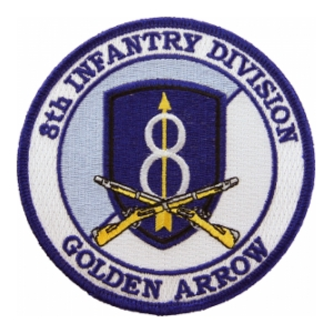 8th Infantry Division Patch