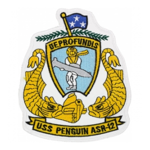 USS Penguin ASR-12 Ship Patch