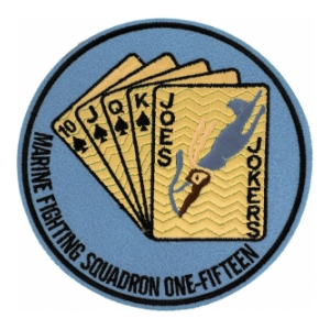 Marine Fighter Squadron VMF-115 Patch