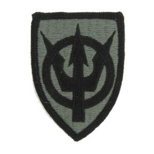 4th Transportation Command Patch Foliage Green (Velcro Backed)
