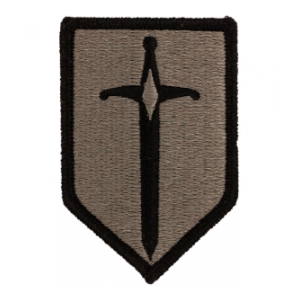 1st Combat Support Brigade Patch Foliage Green (Velcro Backed)