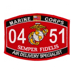 USMC MOS 0451 Air Delivery Specialist Patch