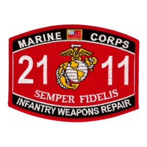 USMC MOS 2111 Infantry Weapons Repair Patch
