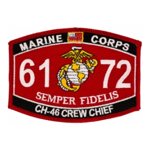 USMC MOS 6172 CH-46 Crew Chief Patch