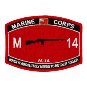 USMC MOS M14 Patch