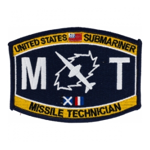 USN RATE Submariner MT Missile Technician Patch