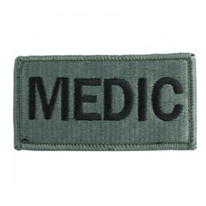 Medic Brassard Patch Foliage Green (Velcro Backed)