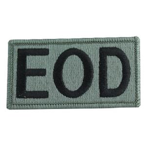 Explosive Ordnance Disposal (EOD) Patch Foliage Green (Velcro Backed)