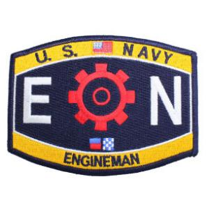 USN RATE EN Engineman Patch