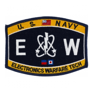 USN RATE EW Electronics Warfare Tech Patch