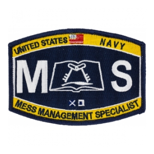 USN RATE MS Mess Management Specialist Patch