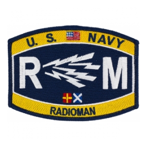 USN RATE RM Radioman Patch