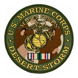 US Marine Corps Desert Storm Patch