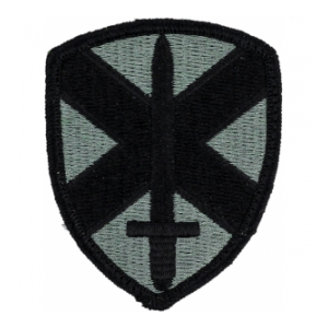 10th Personnel Command Patch Foliage Green (Velcro Backed)