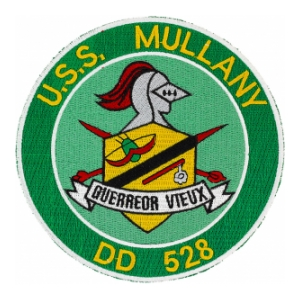 USS Mullany DD-528 Ship Patch