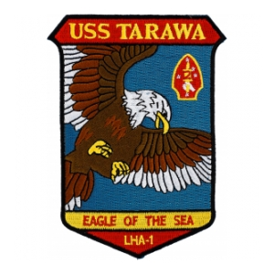 USS Tarawa LHA-1 Ship Patch