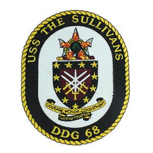 USS The Sullivans DDG-68 Patch