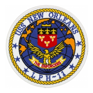 USS New Orleans LPH-11 Ship Patch
